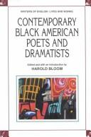 Cover of: Contemporary Black American poets and dramatists |