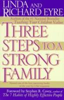 Cover of: 3 steps to a strong family