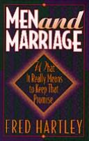 Cover of: Men and marriage | Fred Hartley