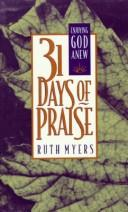 Cover of: 31 days of praise