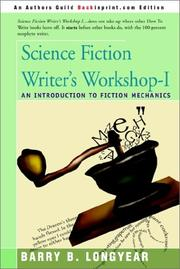 Cover of: Science fiction writer's workshop-I