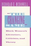 "Cover of: ""The  changing same"""