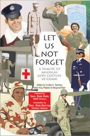 Cover of: Let Us Not Forget | Vurlee A. Toomey