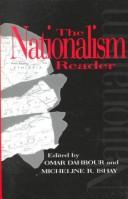 Cover of: The nationalism reader