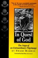 Cover of: In quest of God | Ramdas Swami