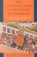 Cover of: The Construction of religious boundaries