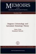 Diagram cohomology and isovariant homotopy theory by Giora Dula