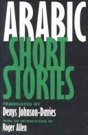 Cover of: Arabic short stories