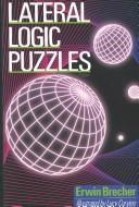 Cover of: Lateral logic puzzles