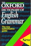 Cover of: The Oxford dictionary of English grammar | Sylvia Chalker