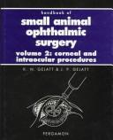 Cover of: Handbook of small animal ophthalmic surgery