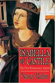 Cover of: Isabella of Castile