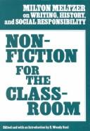 Cover of: Nonfiction for the classroom | Milton Meltzer