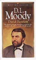 Cover of: D.L. Moody | David Malcolm Bennett