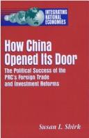 Cover of: How China opened its door