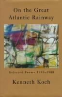 Cover of: On the Great Atlantic Rainway