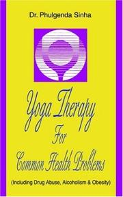 Cover of: Yoga Therapy For Common Health Problems