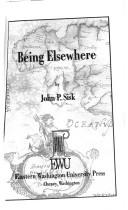 Cover of: Being elsewhere