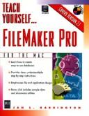 Cover of: FileMaker Pro for the Mac