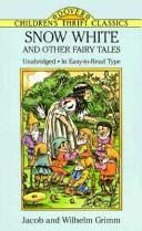 Cover of: Snow White and other fairy tales