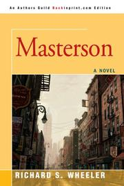 Cover of: Masterson