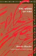 Cover of: The work of fire