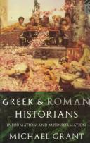Cover of: Greek and Roman historians