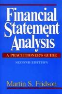 Cover of: Financial statement analysis | Martin S. Fridson
