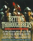 Cover of: Betting thoroughbreds