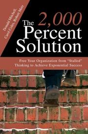 Cover of: The 2,000 Percent Solution | Donald Mitchell