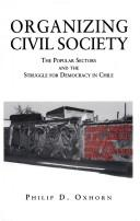 Cover of: Organizing civil society