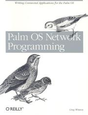 Cover of: Palm OS network programming | Greg Winton