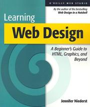 Cover of: Learning Web design