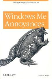 Cover of: Windows Me annoyances | David A. Karp