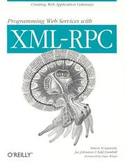 Cover of: Programming Web services with XML-RPC | Simon St Laurent