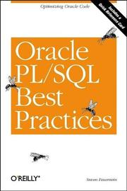 Cover of: Oracle PL/SQL best practices