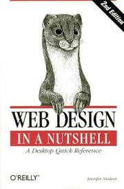 Web design in a nutshell by Jennifer Niederst