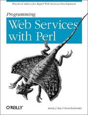 Cover of: Programming Web Services with Perl | Randy J. Ray