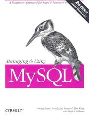 Cover of: Managing and Using MySQL (2nd Edition) | Tim King