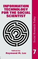 Cover of: Information technology for the social scientist |