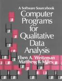 Cover of: Computer programs for qualitative data analysis