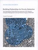 Cover of: Building partnerships for poverty reduction