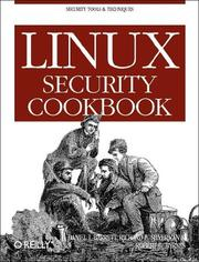 Cover of: Linux security cookbook
