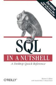Cover of: SQL In A Nutshell, 2nd Edition | Kevin Kline