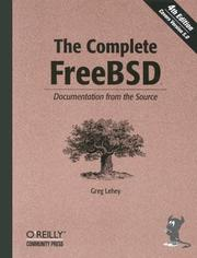 Cover of: The Complete FreeBSD