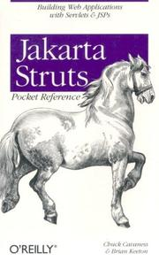 Cover of: Jakarta Struts pocket reference | Chuck Cavaness