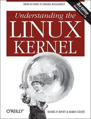 Cover of: Understanding the Linux Kernel | Daniel Bovet