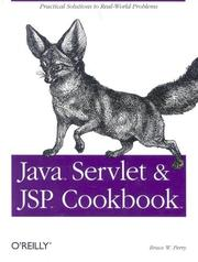 Cover of: Java servlet and JSP cookbook