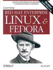 Cover of: Learning Red Hat Enterprise Linux and Fedora