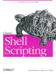 Cover of: Classic shell scripting